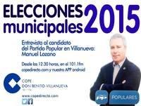 Entrevista Manuel Lozano en COPE Don Benito Villanueva