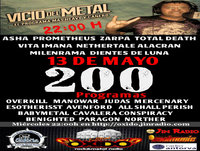 Programa Vicio del metal nº 200 dia 13-05-15