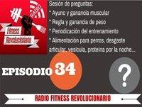 Episodio 34: Ayuno y ganancia muscular, regla y ganancia de peso, desgaste articular, vesícula, alimentación para perros