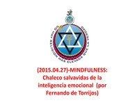 (2015-04-27)-MINDFULLNESS-Chaleco salvavidas de la inteligencia emocional (por Fernando A. de Torrijos)