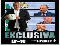 Exclusiva El Podcast EP- 46 Pedrerol, Pipi Estrada, Adiós Champions, François Gallardo y mucho más….