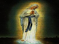 20 dia. La Reina del Cielo en el Reino de la D.V. La virgen fue el cielo cubierto de estrellas.