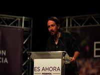 Intervención de Pablo Iglesias en Zaragoza.