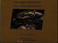 MEX 01 Georges Bataille,El Erotismo