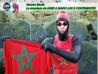 Hassan une a nado los 5 continentes!!!