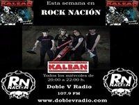 Rock Nación 03 Junio 2015 - Kalean
