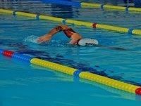 Nadando con Champi!!!