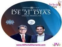 21 MEDITACION - LA SALUD PERFECTA 21 por DEEPAK CHOPRA