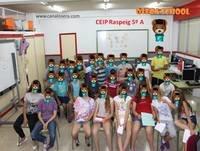 Radio CEIP Raspeig 5A Osera School