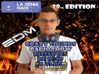 Joan Barrera DJ - Crazy Sounds Radio Show 29 @LaSeniaRadio