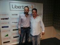 Juan Muñoz, conocido humorista del duo Cruz y Raya, es entrevistado por José Luis Benejam 16/06/2015