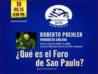Roberto Poehler - Foro de São Paulo 19/06/2015