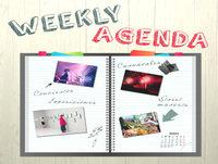 Raquel Cruz Weekly Agenda prog 12