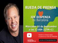 JOE DISPENZA , Rueda de Prensa en Barcelona - 16 Septiembre 2015