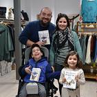 Entrevista a Miguel Echevarría Soria, autor del libro infantil 'Migue Ruedines y el Templo del Dargón Azul'
