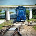 Holguín volvió a disfrutar de los pitazos del nuevo servicio ferroviario de pasajeros
