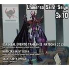 3x10 Saint Seiya: Especial Evento Tamashii 2013 con Distribuidora Animéxico/Charla FNAC/Noticias/Saint Seiya Omega