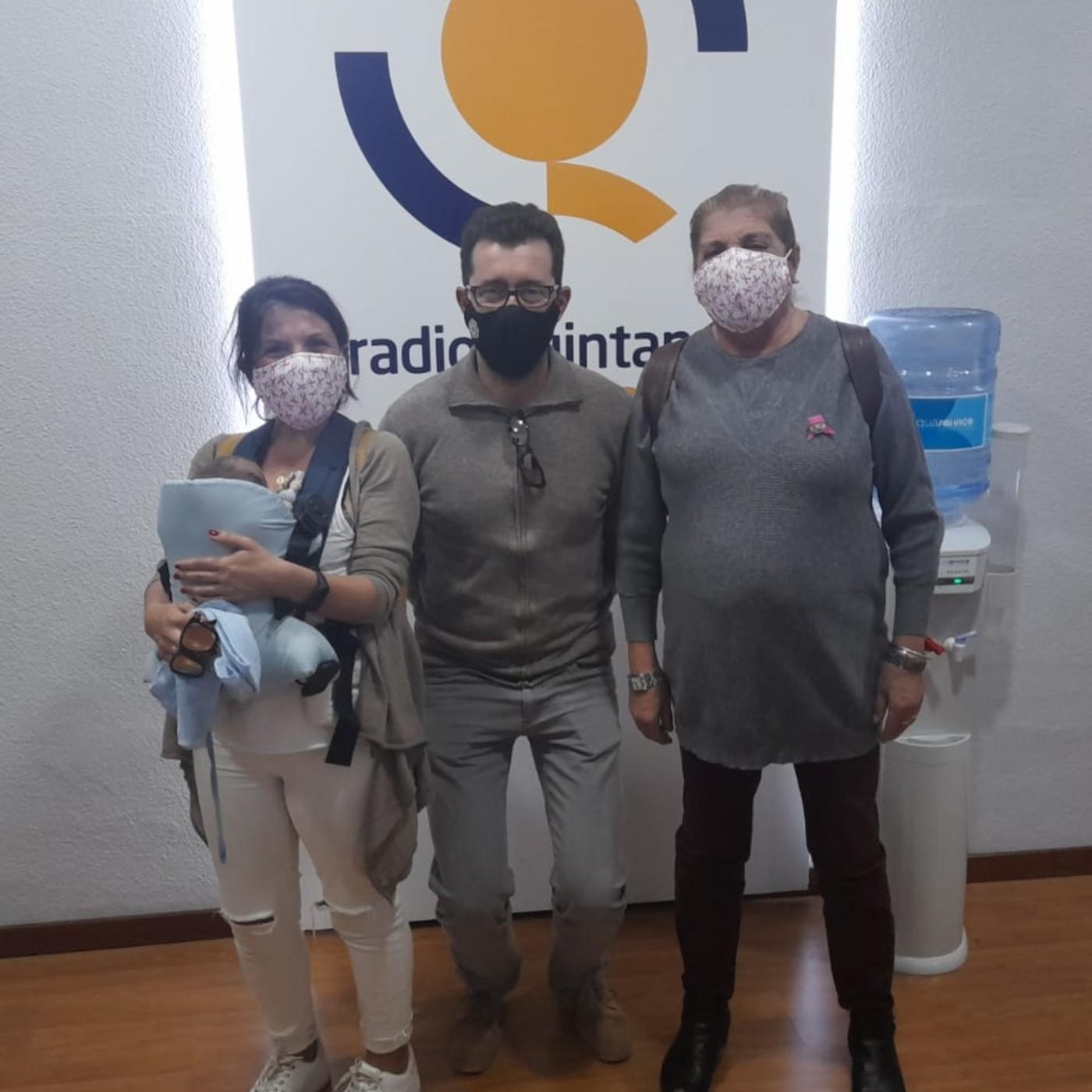 Entrevista a María José Botija, Carmen Ayllón y Carmelo Carretero. Día Internacional en Lucha contra el cáncer de mama