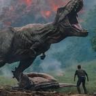 Jurassic World El reino caido. Estrenos del 8 de Junio de 2018