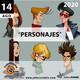Programa Entrecantos 14 de agosto, 2020: Personajes