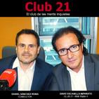 Club 21 - El club de les ments inquietes (Ràdio 4 - RNE)- DANIEL SÁNCHEZ REINA (15/07/18)