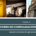 #TemarioCGT2019 · Tema09 · Parte3 AUDIO · 19.08.2019