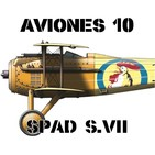 A10#56 SPAD S.VII Héroe francés, corazón español