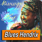 INETTA VISOR (Mississippi Heat) · by Blues Hendrix
