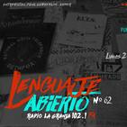 Lenguaje Abierto nº62 (Especial Punk Hc Actual I, con Pablo Karnvapen)