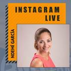 Entrevista en Instagram LIVE a Noemí García
