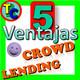 LAS 5 VENTAJAS DEL CROWDLENDING - Rentabilidad, Sencillez y mucho más