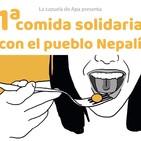 1ª Comida Solidaria con el Pueblo Nepalí