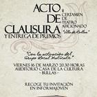 Antonio José- clausura Muestra Teatro Aficionado e inauguración exposición Semana Santa