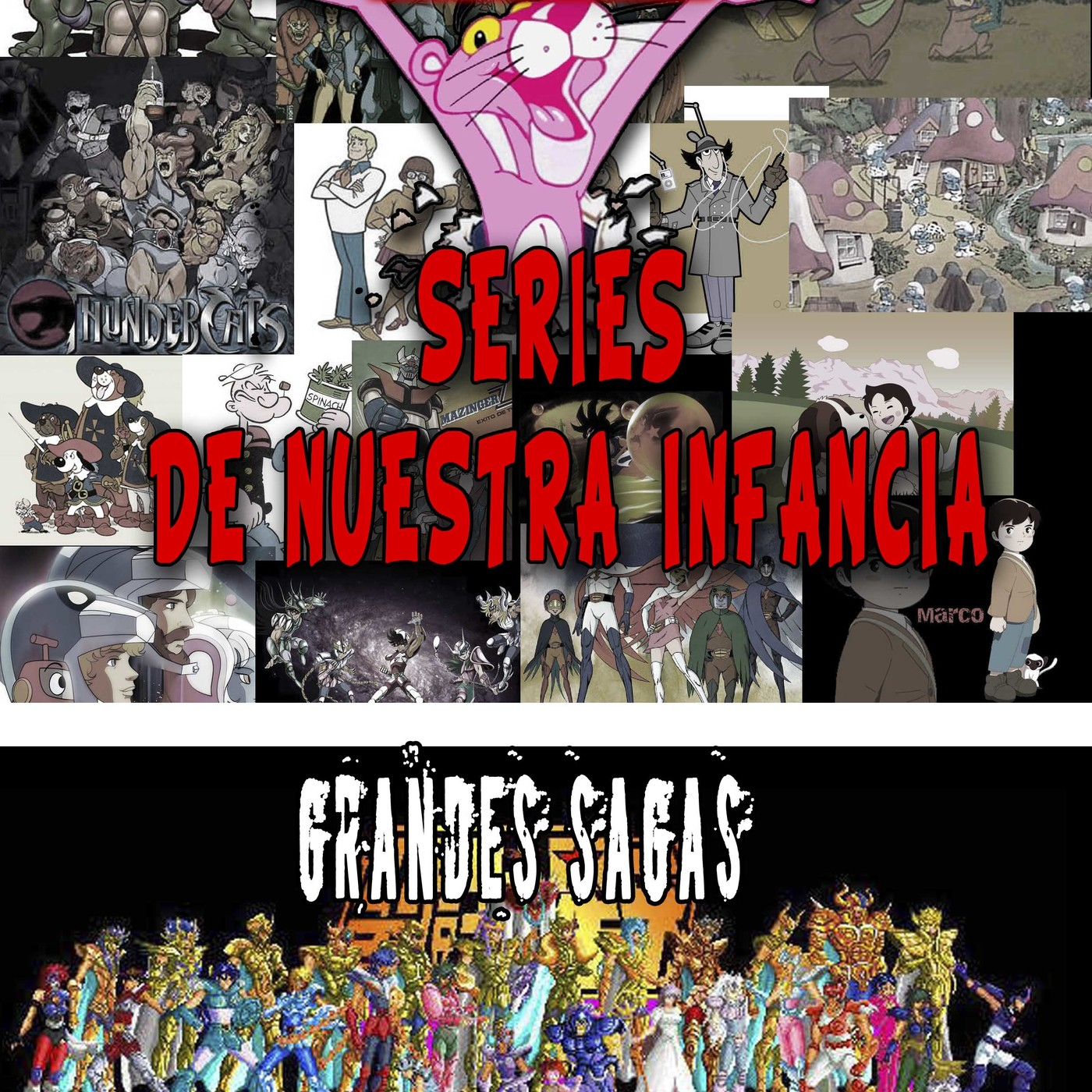 [LGDS] La Guarida Del Sith 2x02 Especial 'Series de Nuestra Infancia',Stuck, Saint Seiya,
