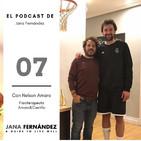 Fisioterapia para prevenir lesiones y mantener un cuerpo sano, con Nelson Amaro
