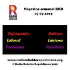 Magazine semanal RRR - 07.09.2019