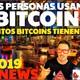 Cuántas personas usan bitcoin y cuánto tienen? /cryptonews 2019