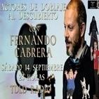 4x14 Actores de doblaje al descubierto con Fernando Cabrera.