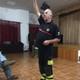 UN SEGURO DE VIDA//Conexión con el Jefe Bomberos//ESCUELA DE POLICÍAS