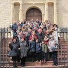 Entrevistas en el segundo encuentro de los Titos en Guadahortuna (Granada)