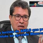 #OpiniónEnSerio ¡#EnVivo!: ¡La principal lección de AMLO que no aprende Monreal!