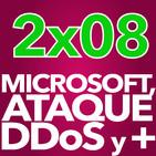 2x08 - Ataque DDoS, la nueva Microsoft, y un Xiaomi Mi Mix (28/10/16)