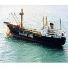 Anguilla (isla del Caribe) contactando barco de la Bernuth lines