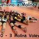 Un imparable Molina Voley vence en el derbi regional contra el Murcia por 0-3