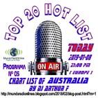 Prog. 05 TOP 20 HOT LIST AUSTRALIA 02 (New Edition 2019) 20190108