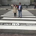 Javier Ayala, alcalde de Fuenlabrada. Campaña 'Yo digo no' contra las violencias machistas