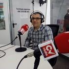 El vocalista de la banda de pop valenciana Atlàntic, Josep Bartual, presenta su álbum '1976'