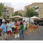 Radio Rinconada especial comercio desde la Plaza de la Libertad en la Barriada Santa Cruz 18 de junio de 2014