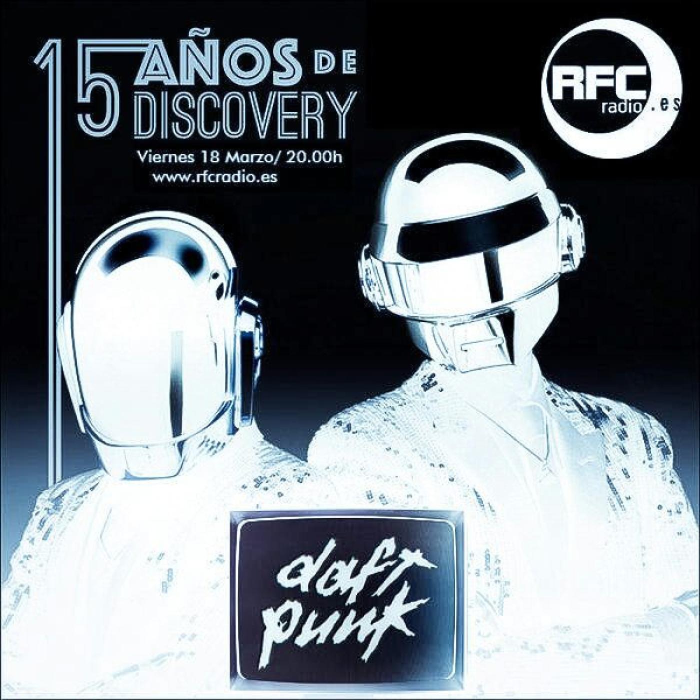 Especial Daft Punk - 15 aniversario de Discovery