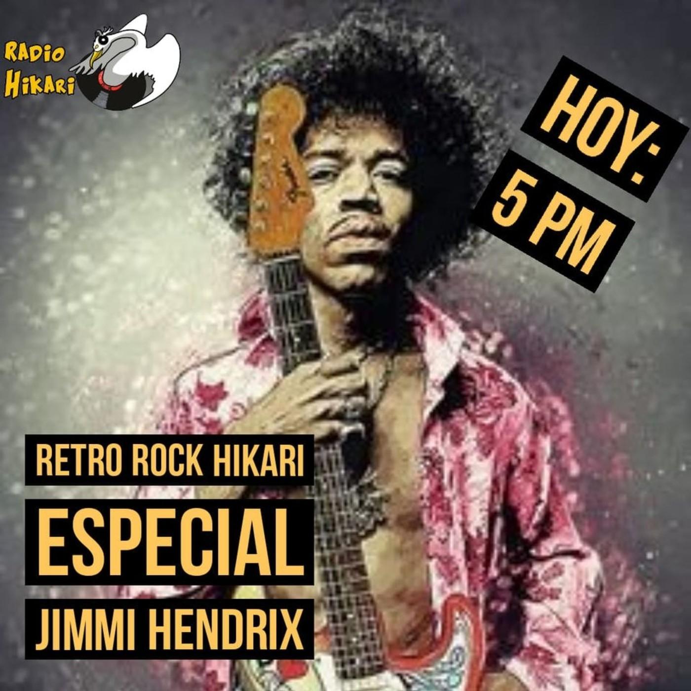 Retro Rock Hikari: Especial Jimmy Hendrix